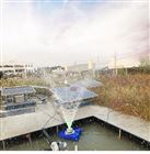 如克厂家直销-新款太阳能曝气机