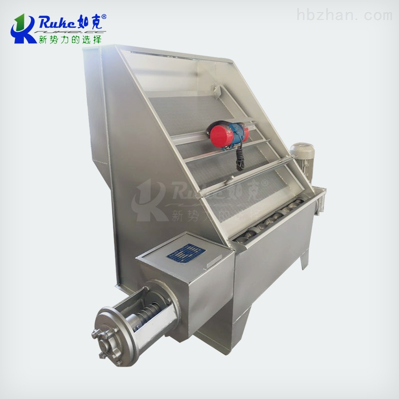 RKSF-40振动式不锈钢材质固液分离机