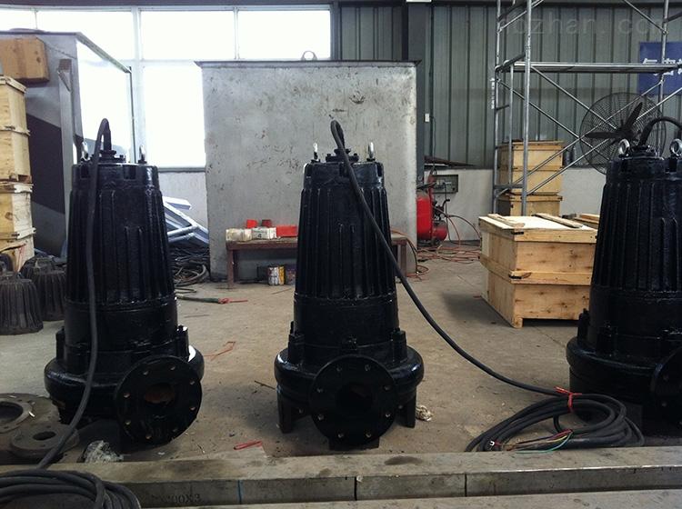 WQ型潜水潜污泵、抗堵塞