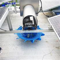 太阳能河道解层式增氧曝气机储能式