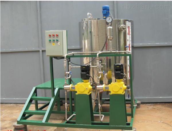 锅炉加药装置工作原理