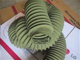 绿色帆布伸缩软连接
