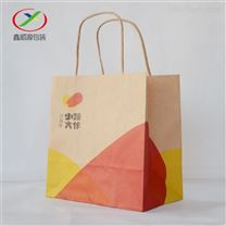 南通雷竞技官网手机版下载包装袋牛皮方底袋外卖打包袋手提袋