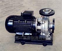 ISWH臥式單級不鏽鋼管道離心泵