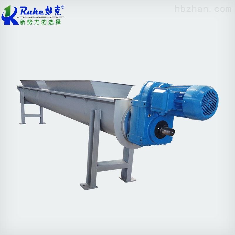 LS型螺旋输送机-江苏如克环保-倾斜螺旋输送机