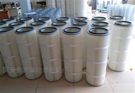 (325/350)*660防油防水覆膜聚酯纖維粉塵濾芯