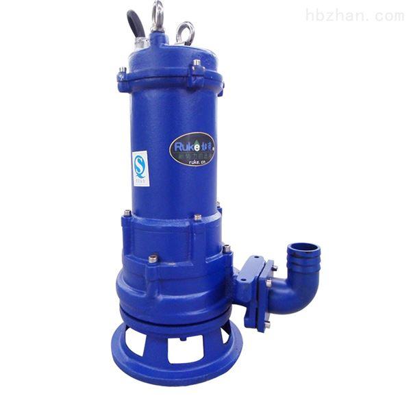 沼气池用泵污水污物双绞刀潜水排污泵
