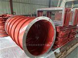 红色硅胶布通风管 红色硅胶布通风管定做