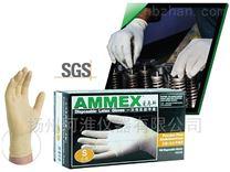 AMMEX一次性乳胶手套标准型