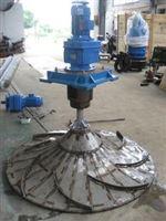 GSJ-2000双曲面搅拌机多曲面搅拌机GSJ-2000潜水式安装不锈钢轴环保设备