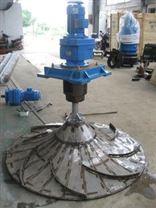 双曲面搅拌机多曲面搅拌机GSJ-2000潜水式安装不锈钢轴环保设备