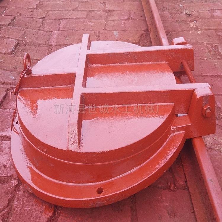 铸铁拍门结构与原理厂家解释