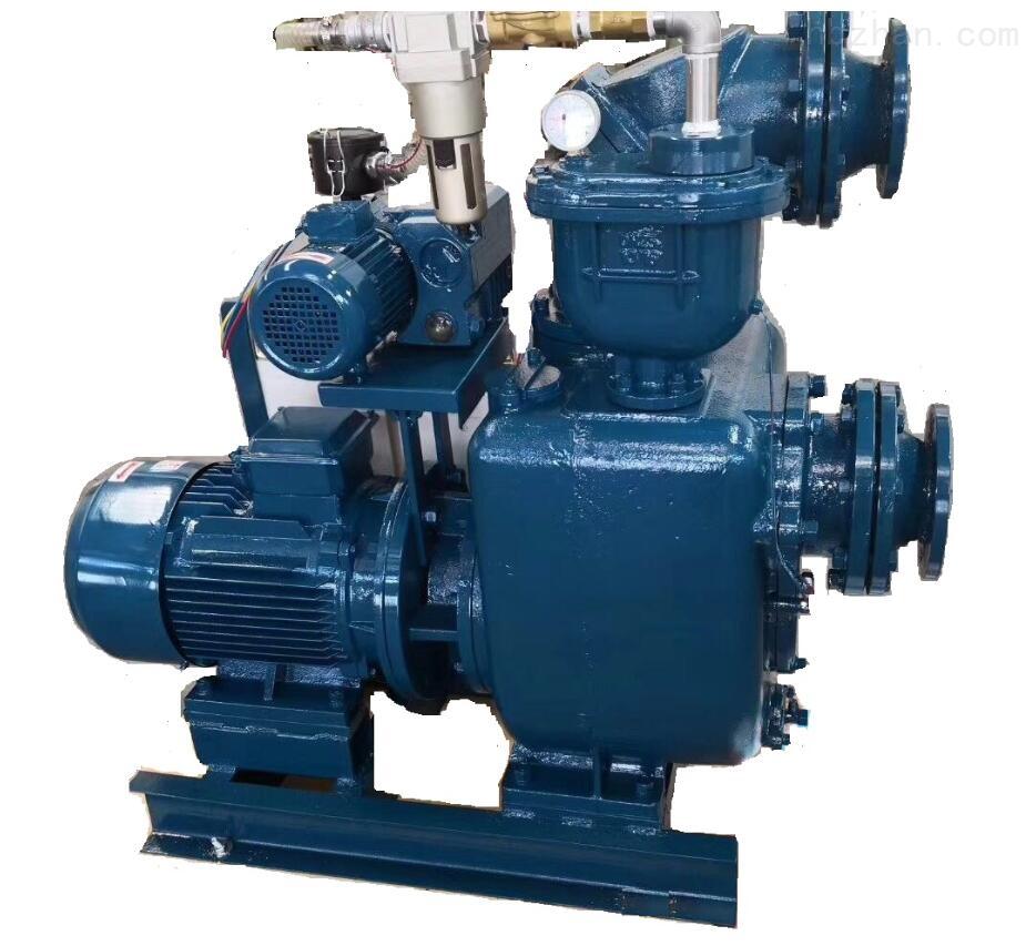 自吸式高吸程真空污泥泵