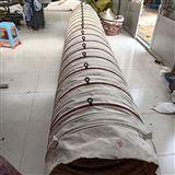 工業帆布散裝機輸送卸料口布袋廠家直銷