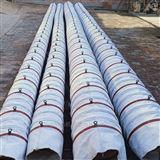 粉煤灰卸料输送耐磨帆布伸缩除尘布袋