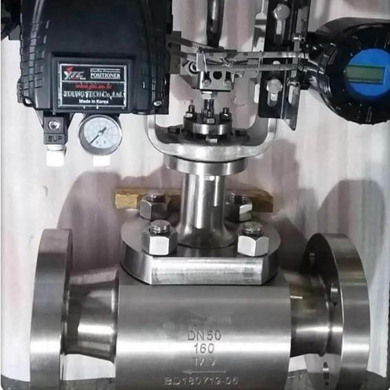 钛材质调节阀门ZJHP-160
