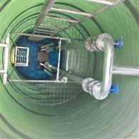 大连污水整改一体化预制泵站效果