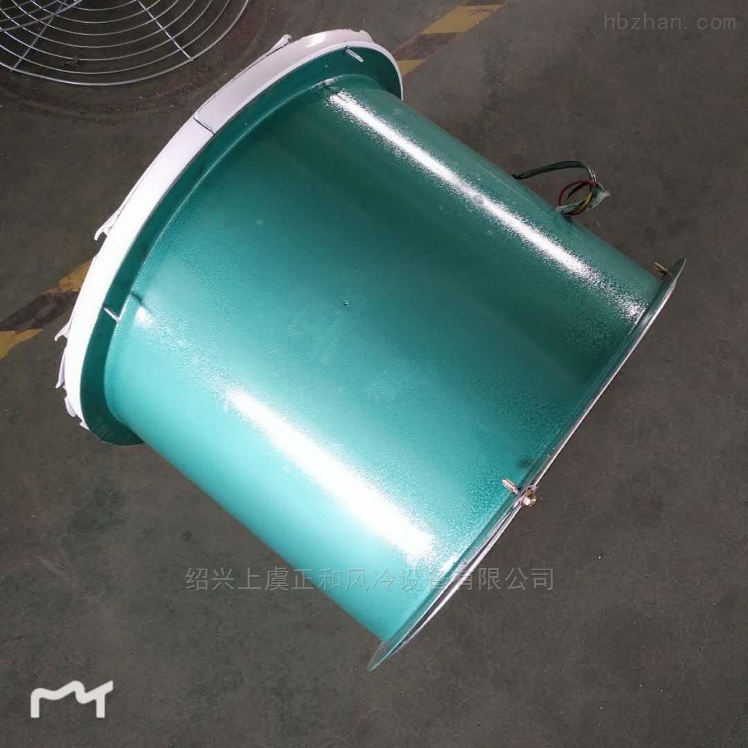 低噪声节能钢制轴流风机带百叶
