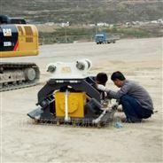 小松360挖机振动夯地基沟底夯实设备