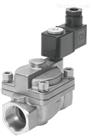VAS-125-3/8-PUR-B原装FESTO费斯托电磁阀的安装尺寸图