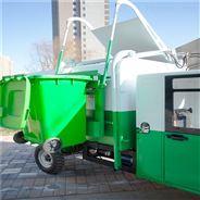 电动环卫三轮垃圾车