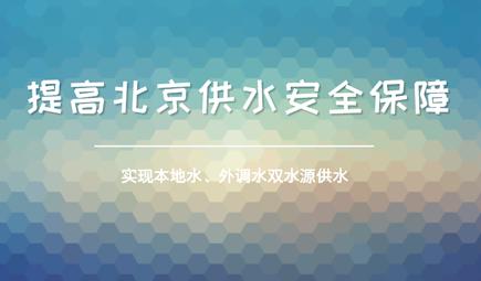"""打造双源供水新格局 北京已""""喝""""逾30亿方南来水"""