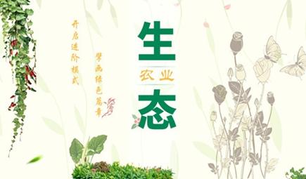 全面开启进阶模式 擘画生态农业绿色篇章