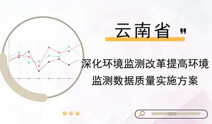 云南:《深化环境监测改革提高环境监测数据质量实施方案》