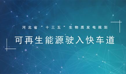 """《河北省""""十三五""""生物质发电规划》"""
