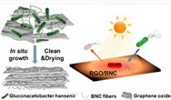 细菌织造纤维素:新型氧化石墨烯滤芯制备技术可净水