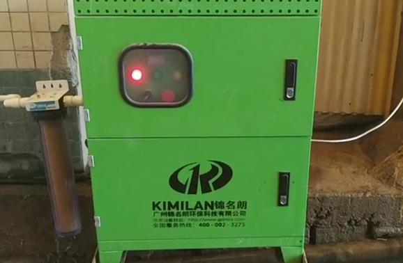 江门恩平一箭陶瓷企业喷雾除尘案例