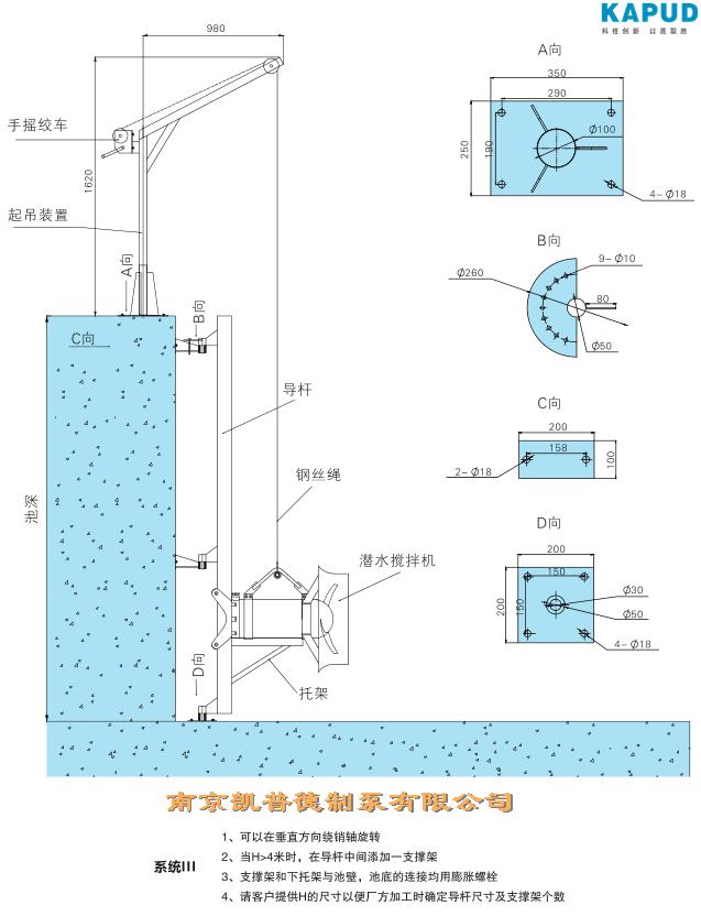 污水泵手自动运行电路图