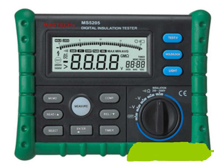 ms5205绝缘电阻测试仪