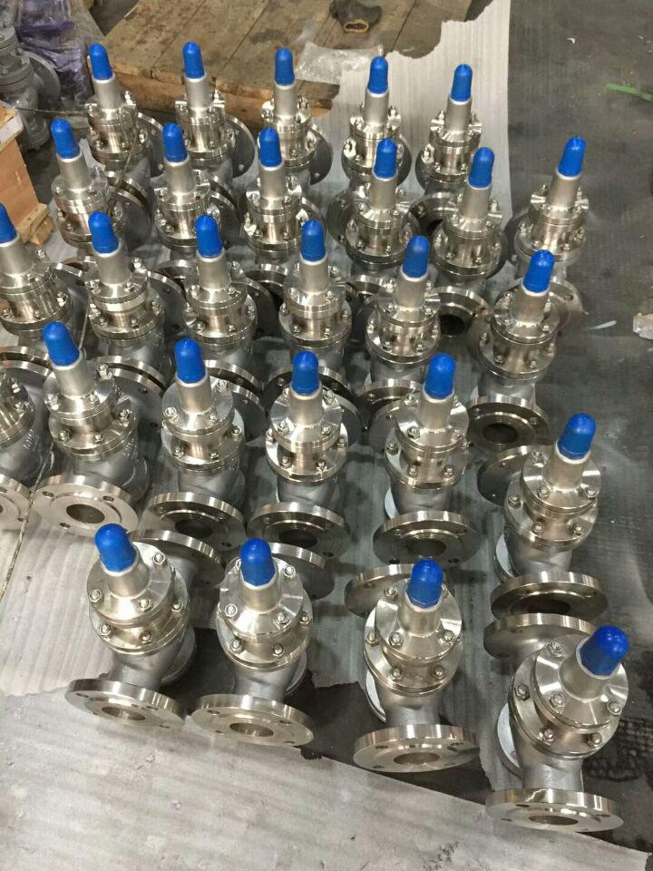 y43h-16p蒸汽减压阀安装与使用图片