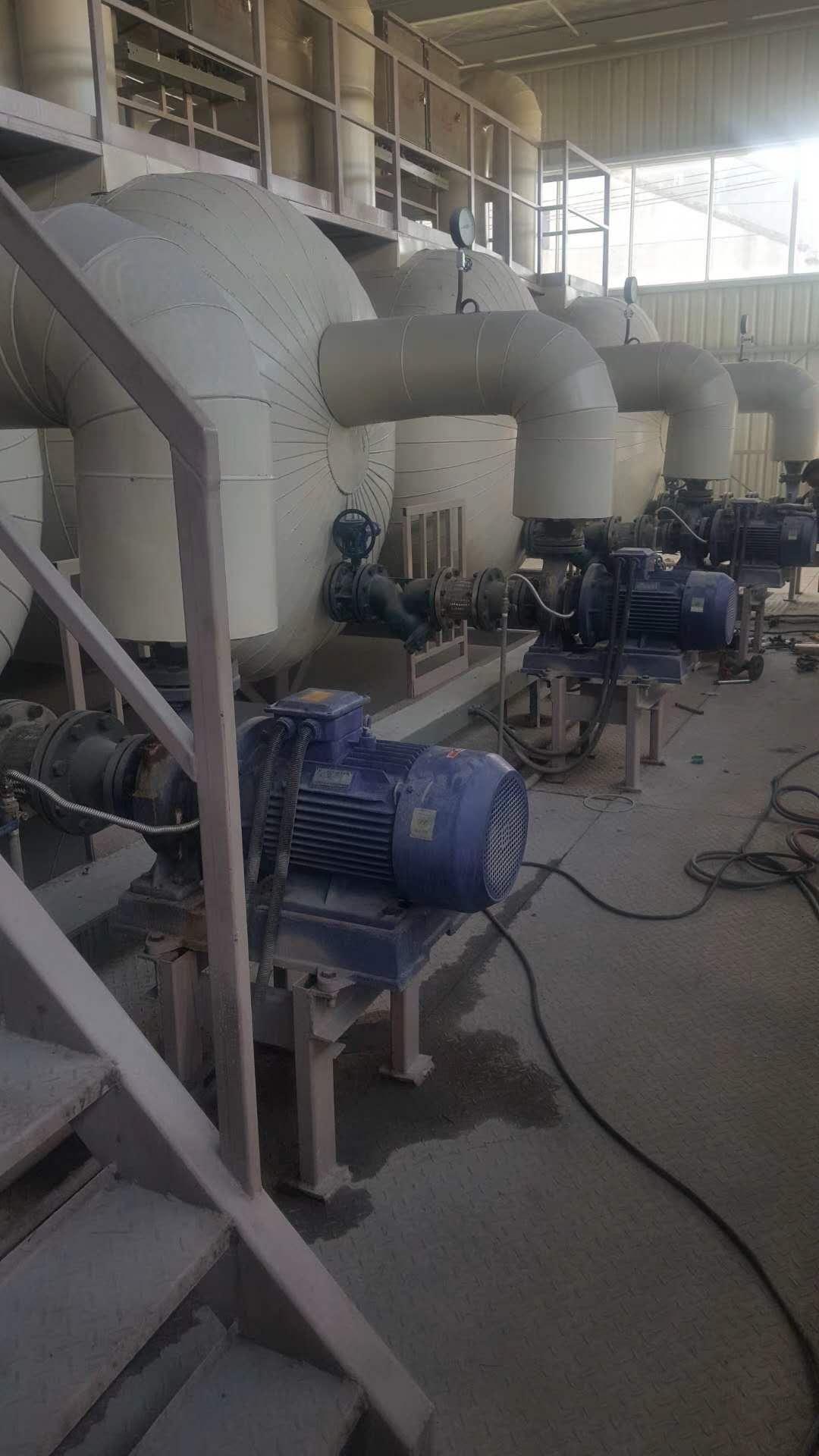 热水循环泵使用现场