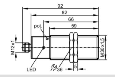 evt321 分析ifm易福门di5009速度传感器的规格参数