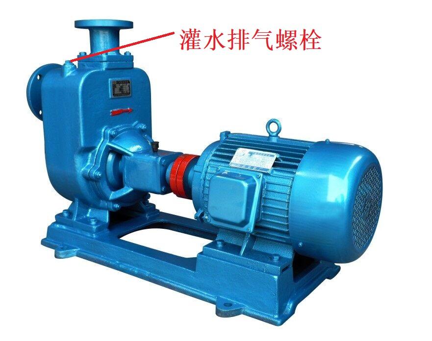自吸泵排气口