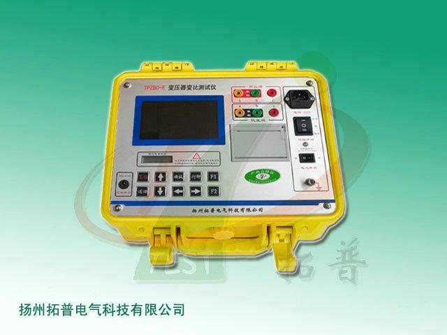 拓普tpzbc-e 彩屏交直流供电变压器变比测试仪功能特点与技术指标