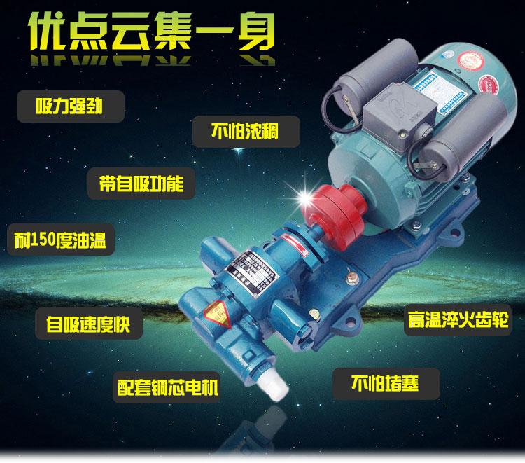 齿轮油泵优点