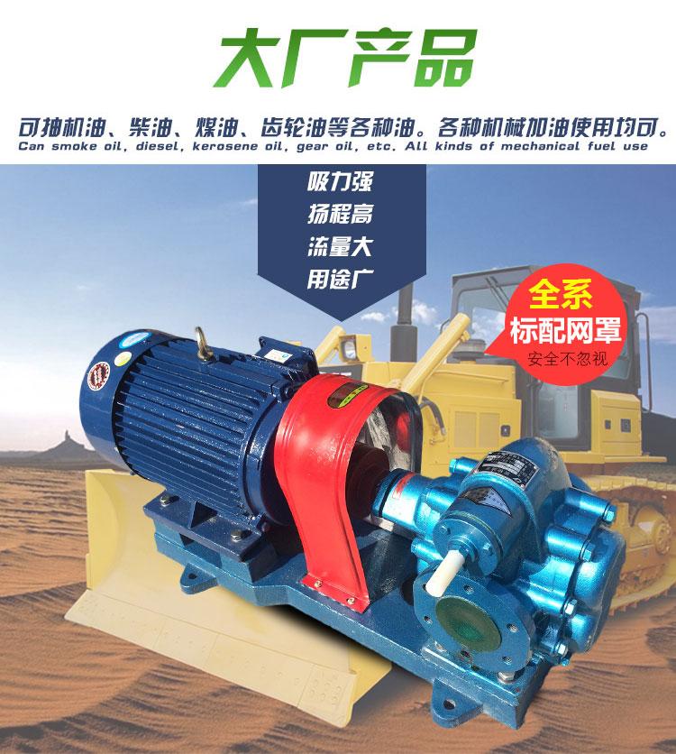齿轮油泵用途