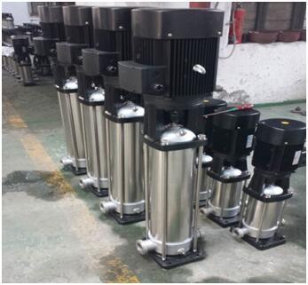整体不锈钢材质的QDL16-140水泵