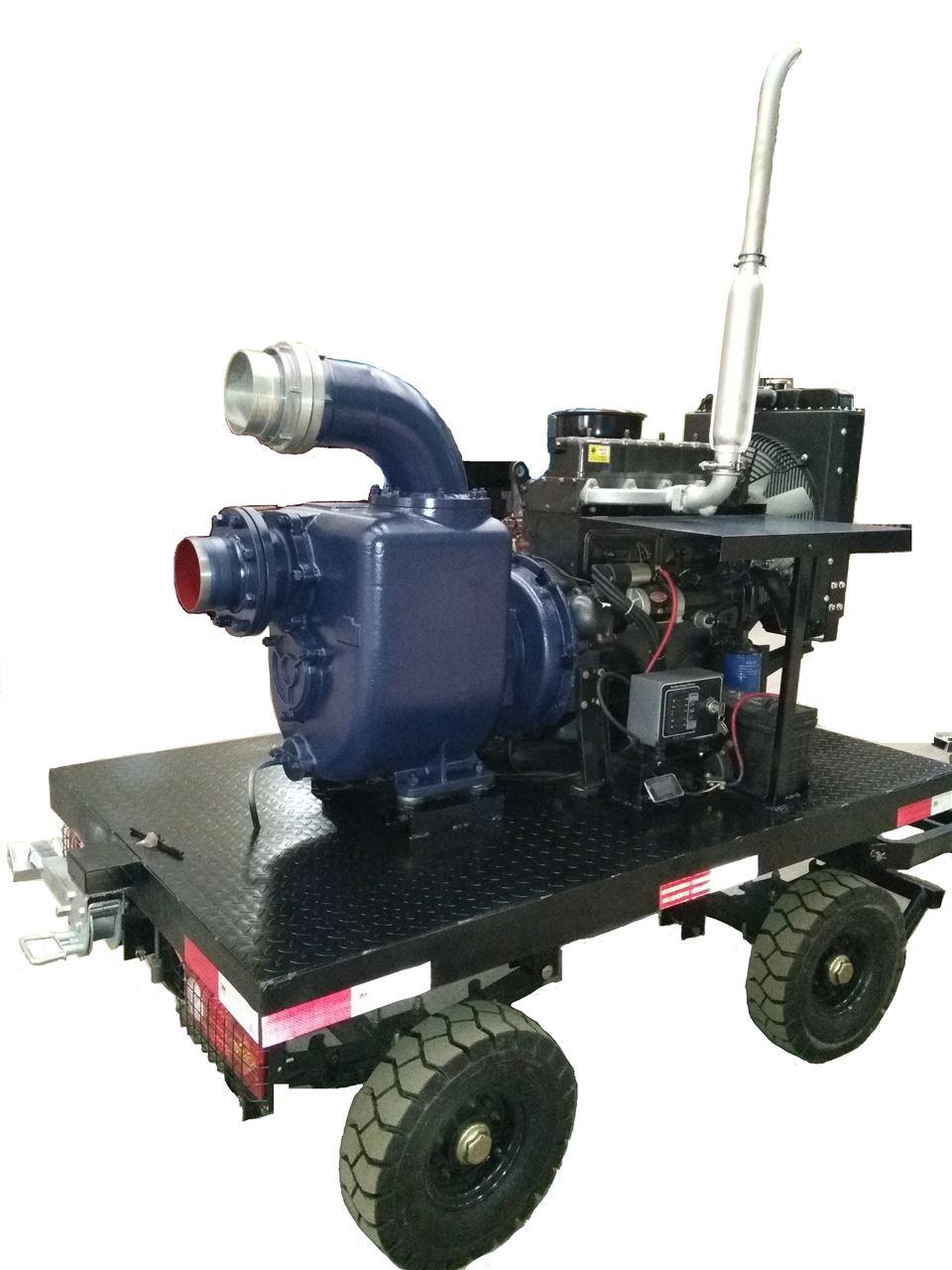 遙控移動泵車