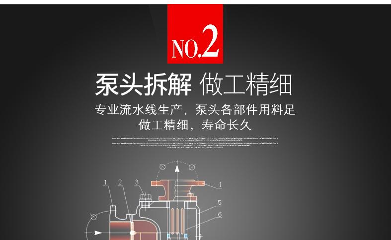 自吸油泵泵头