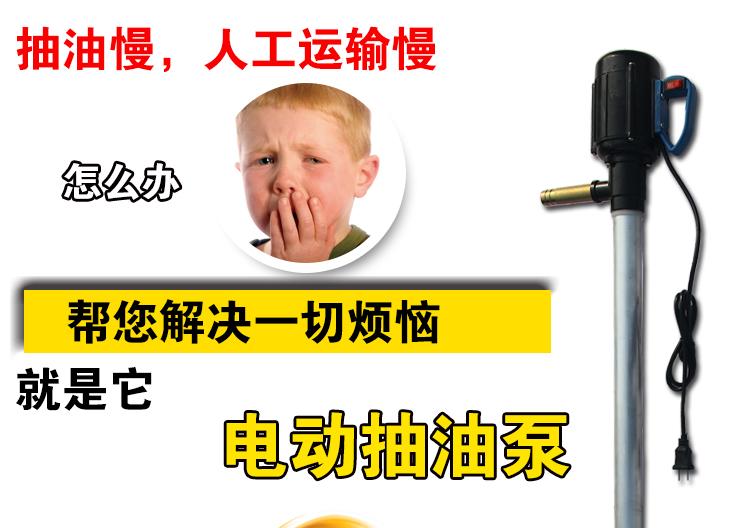 电动插桶泵