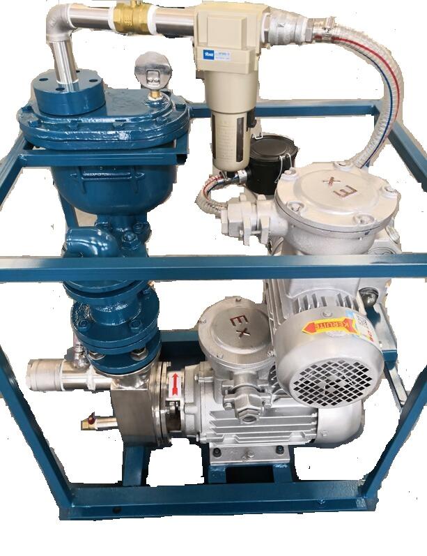 能把水抽幹淨的自吸泵