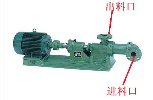 I-1B浓浆泵结构图