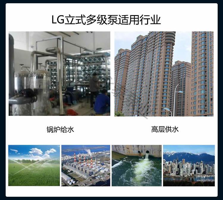 LG多级泵用途
