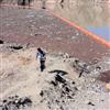 浮筒水电格栅浮筒安装水面隔离垃圾浮排厂家